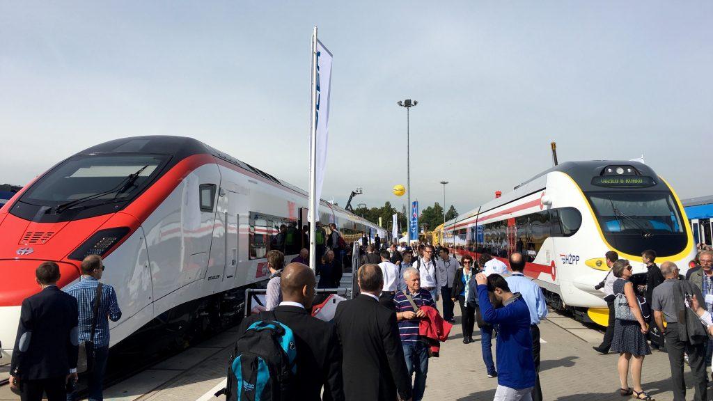 Insgesamt 127 Fahrzeuge konnten auf der Gleis- und Freifläche besichtigt werden.