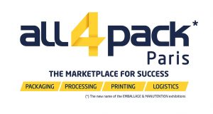 All4Pack Logo November Paris