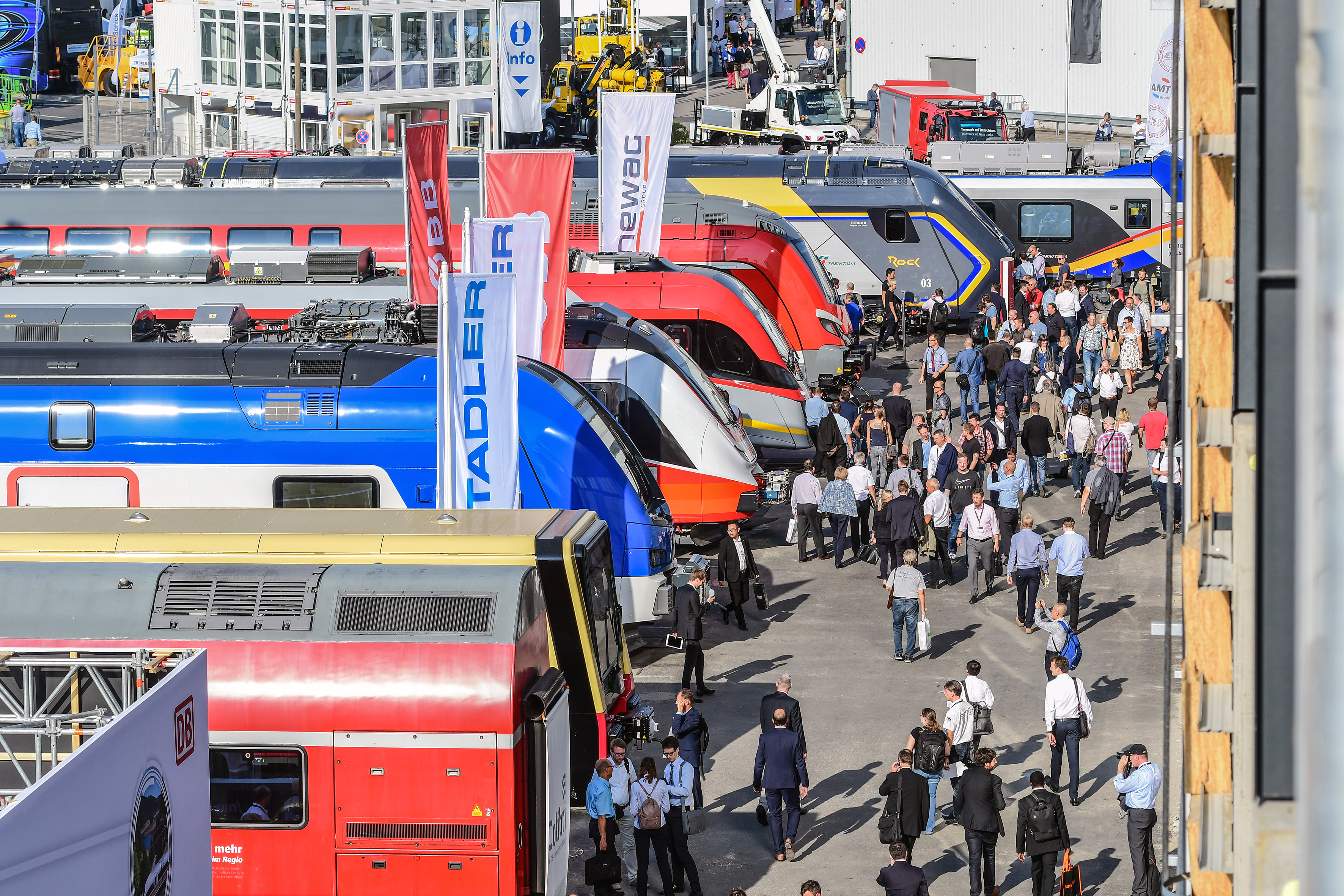 InnoTrans 2018 - Gleis- und Freigelände -